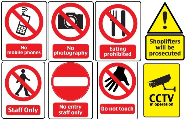 Free 18 Warning Signs