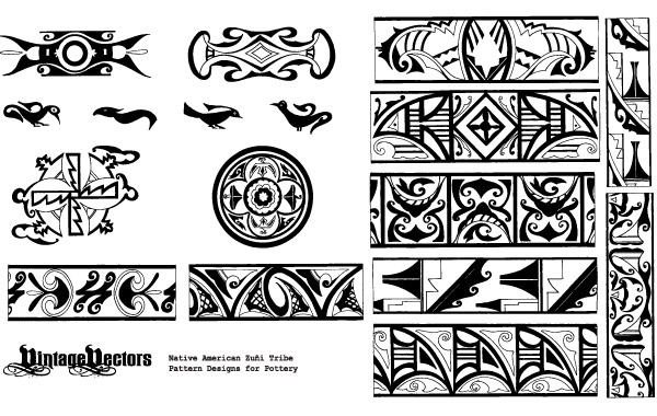 Free Native American Pottery Patterns