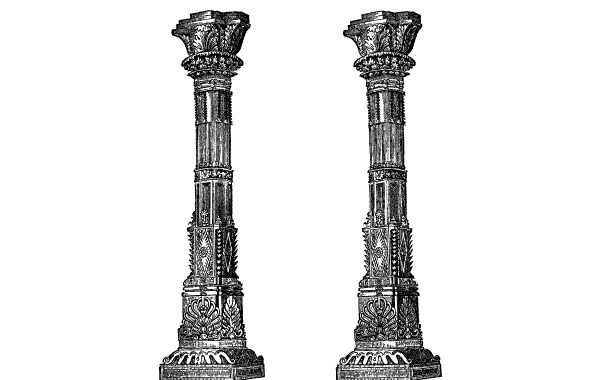 Free Ancient Temple Columns