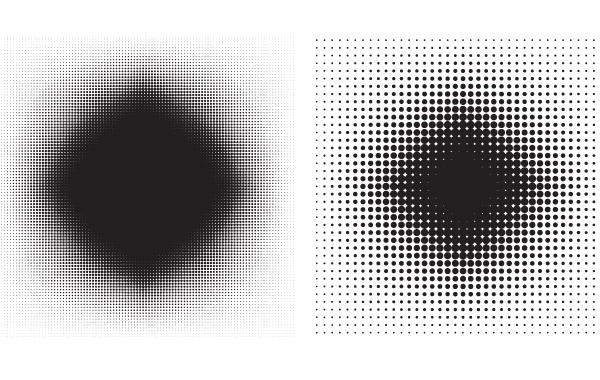 Free 6 Halftone Patterns