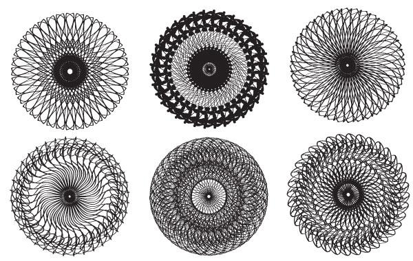 Free Vectors: Kaleidoscope Vectors   Arbenting