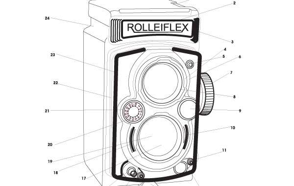 Free rolleiflex camera