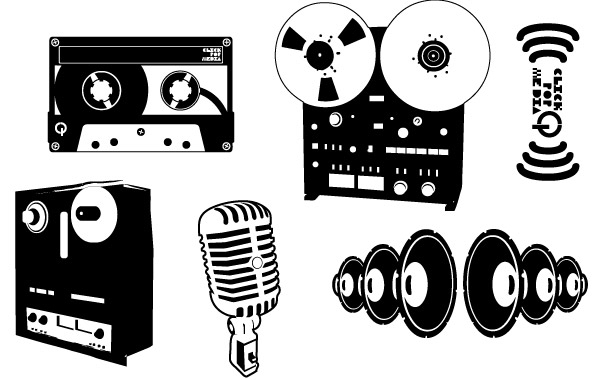 Free Recording Vector Pack