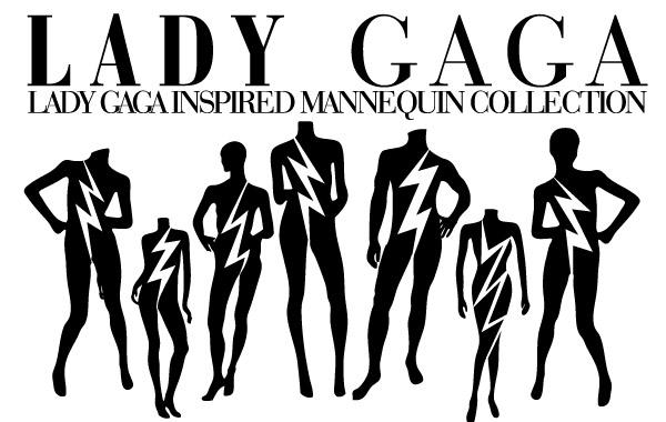 Free Lady Gaga Mannequin Vectors