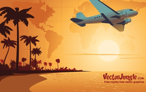 Free FREE TRAVEL VECTOR
