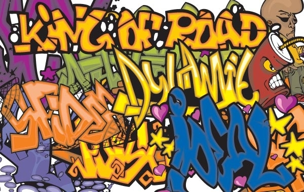 Free 150 Graffiti vector symbols