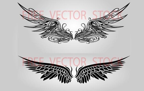Free Wngs Set Vectors