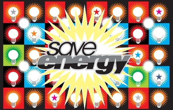 Free Save Energy Vector