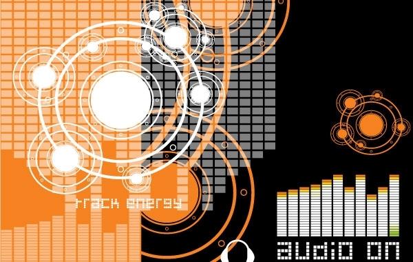 Free Vector Music Theme 1