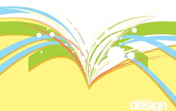 Free Vectors: Colorful Vector Background Design