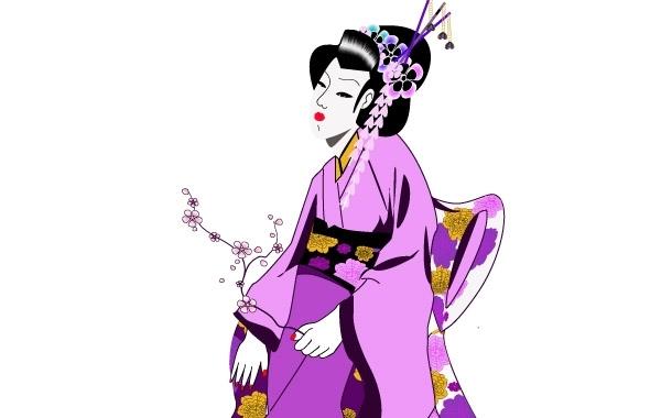 Free Japanese Geisha Girl