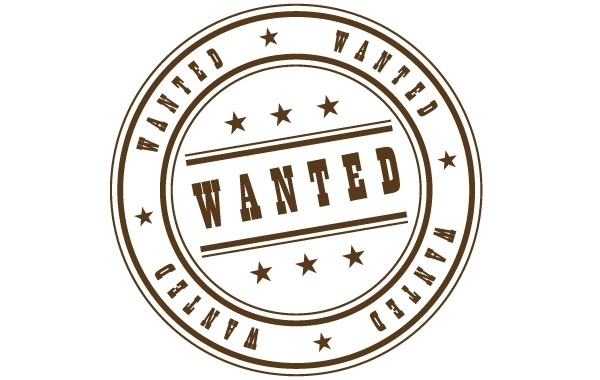 Free Wanted Stamp