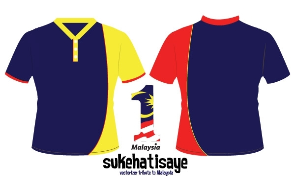 Free vectorizer -Tribute to Malaysia