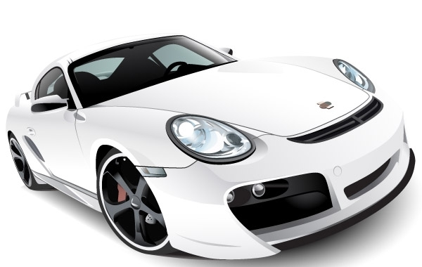 Free Porshe car vector