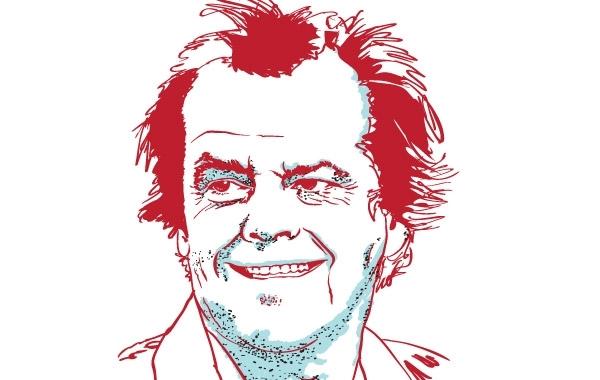 Free Vectors:  Portrait of Jack Nicholson | pherents
