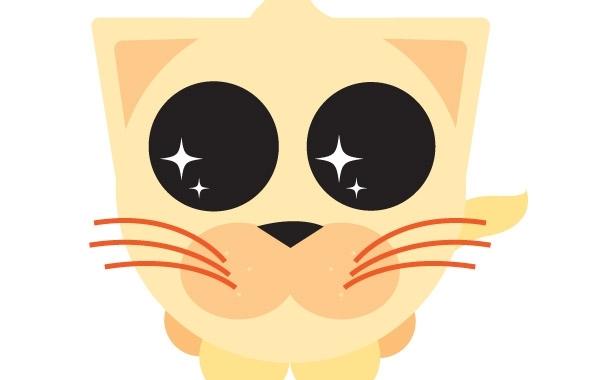 Free Cute Orange Kitty