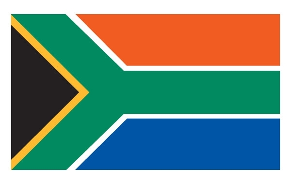 Free South African Flag Vector