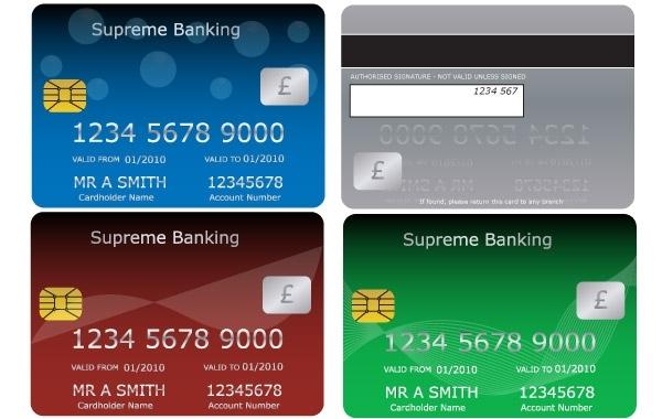 Free Vectors: Bank Cards   jay_bo10
