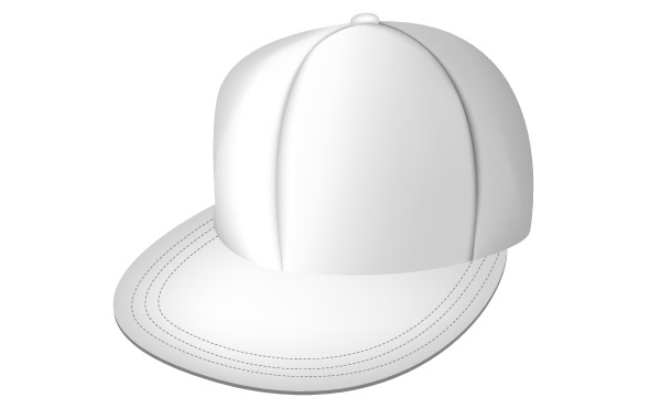 Free  White full cap