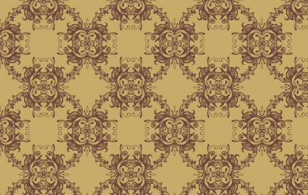 Free Vectors: Vector Seamless Pattern-Ornament |  stock-graphic-designs