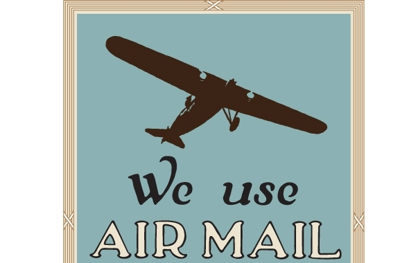 Free NixVex We Use Air Mail Free Vector