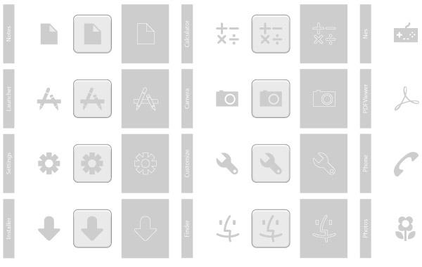 Free Grey Icons