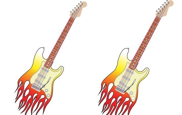 Free Vector Guitar