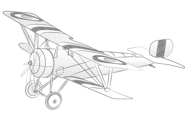 Free Vector Airplane