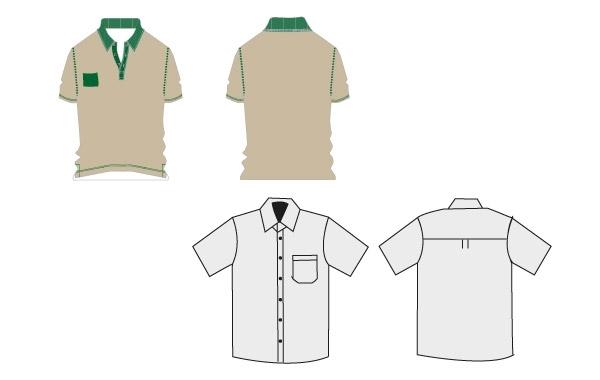 Free T-shirt Work uniforms