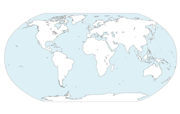 Free World Continents Map Vector