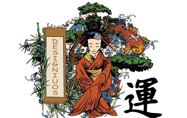 Free Japanese illustration vectors