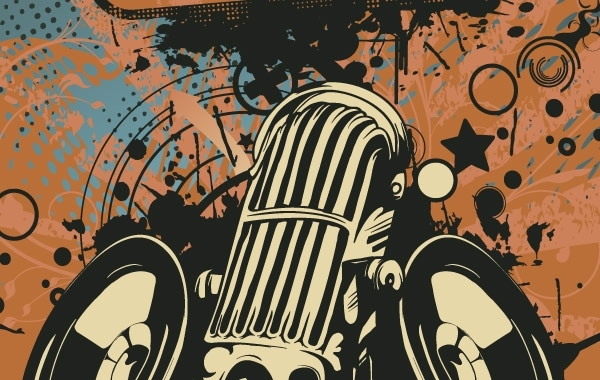 Free Microphone vector illustration
