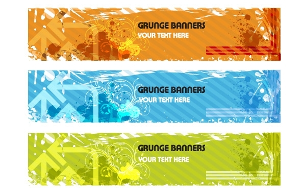 Free Grunge Banners