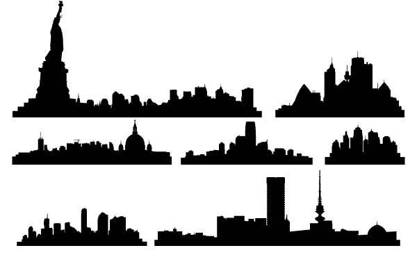Free Free Vector City Skylines