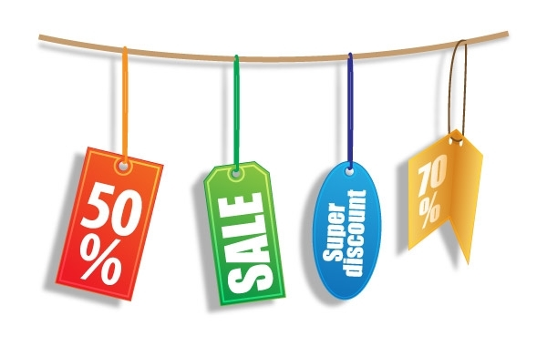 Free Discount Tags