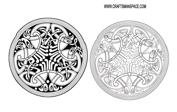 Free Celtic ornament