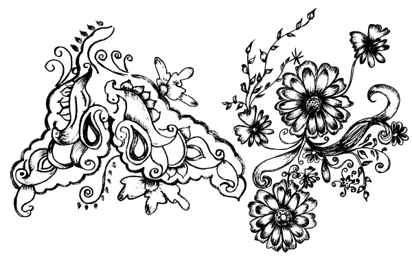 Free Hand Drawn Decorative Elements