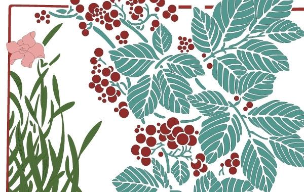 Free Vectors: Floral illustration | Craftsmanspace