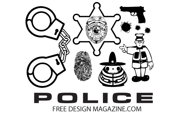 Free Police Vectors Free Download