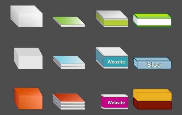 Free Vectors: Free Vector Boxes | Chais Meyer