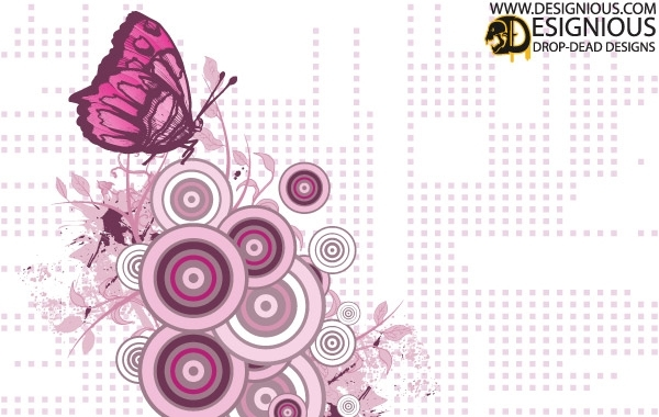 Free Free Butterfly Vector Illustration
