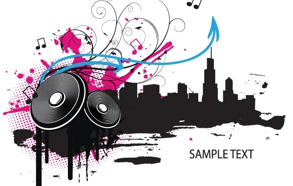 Free Vectors: Music illustration | designious