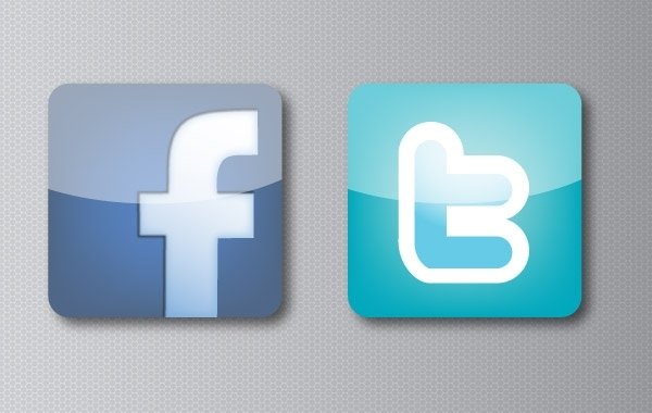 Free Facebook and Twitter Icons