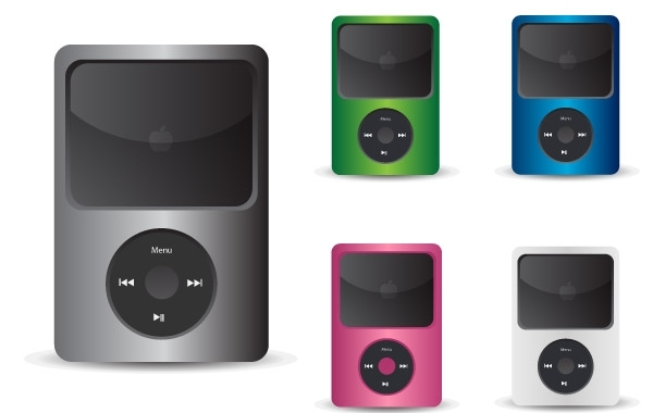 Free Free IPod Vector Icons
