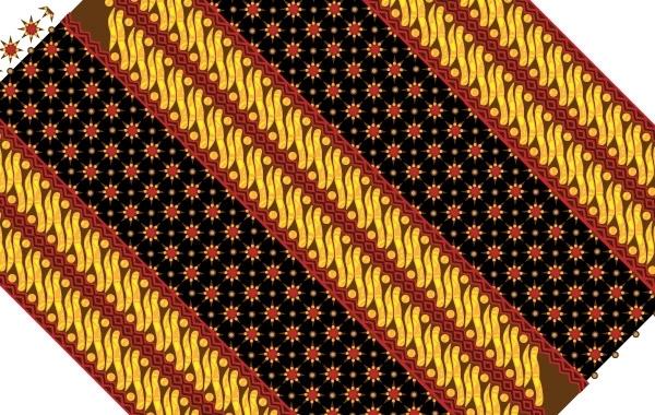 Free Batik pattern texture