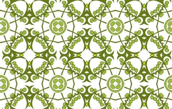 Free Floral framework pattern