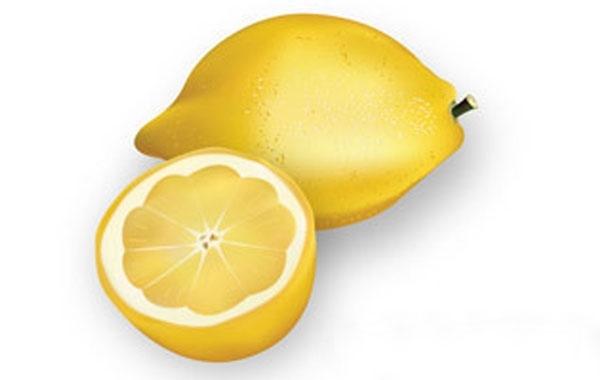 Free Realistic chopped lemons