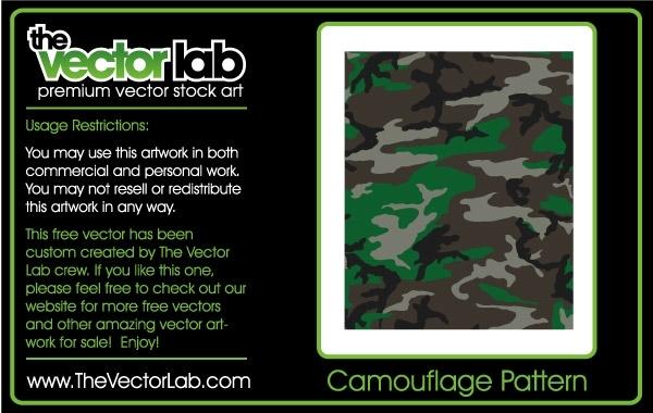 Free Camouflage Pattern
