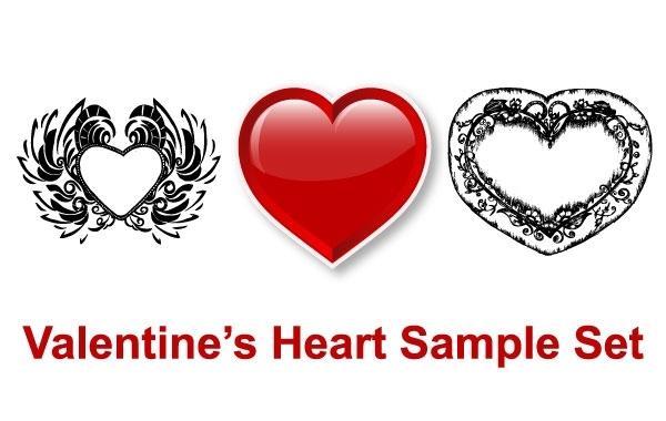 Free Vectors: Valentine's Heart | stock-graphic-designs