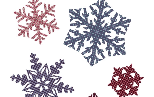 Free Quilted Snowflakes